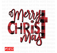 Sublimation print - Merry Christmas #1452
