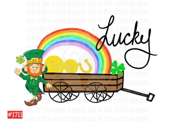 Sublimation print - Lucky Wagon #1711