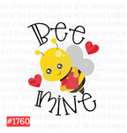 Sublimation print - Bee Mine #1760