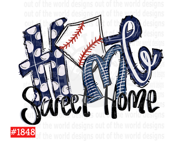 Sublimation print - Home sweet home
