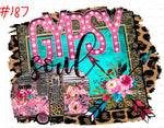 Sublimation print - Gypsy Soul #187