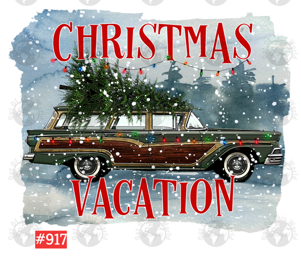 Sublimation print - Christmas Vacation #917