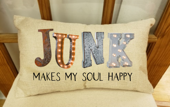 (Instant Print) Digital Download - Junk makes my soul happy