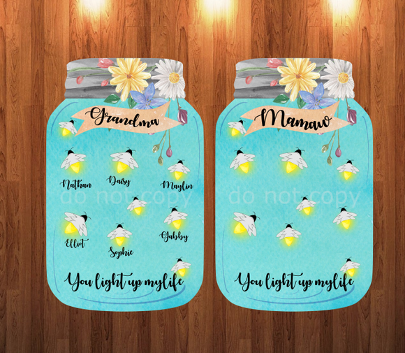 (Instant Print) Digital Download -Mamaw light up my life
