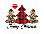 Merry Christmas Trees (Instant Print) Digital Download
