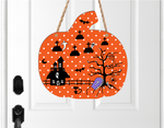 (Instant Print) Digital Download - Spooky halloween grave yard pumpkin