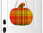 (Instant Print) Digital Download - Plaid fall pumpkin