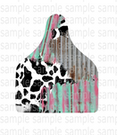 Sublimation print  ONLY ( 14 different sizes) - Cattle tag - Made for our blanks