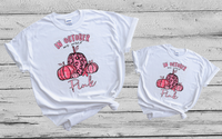 Screen prints - ***KID SIZE*** KID SIZE***** ( In October we wear pink )