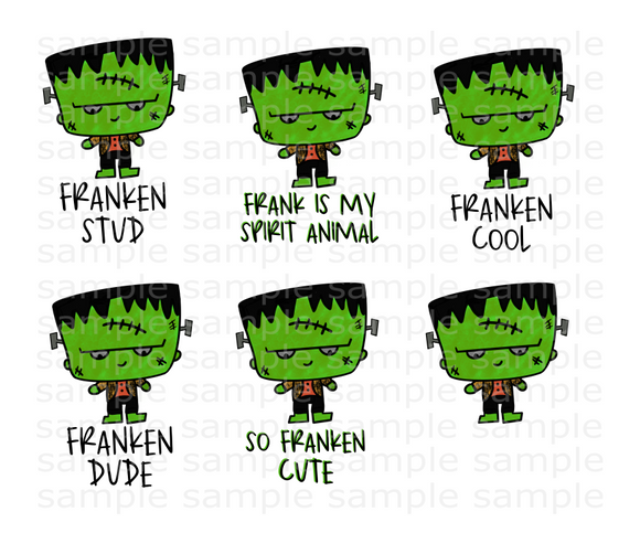 (Instant Print) Digital Download - 6pc Frank Bundle