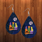(Instant Print) Digital Download -  Hocus Pocus Tear drop earring - made for our sublimation blanks