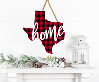 (Instant Print) Digital Download -  Texas Plaid State Design - Made for our  blanks