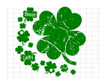 (Instant Print) Digital Download - Blessed Lucky Loved Clover