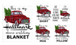 (Instant Print) Digital Download - This is my Hallmark movie watching ( bundle set of 5 designs )