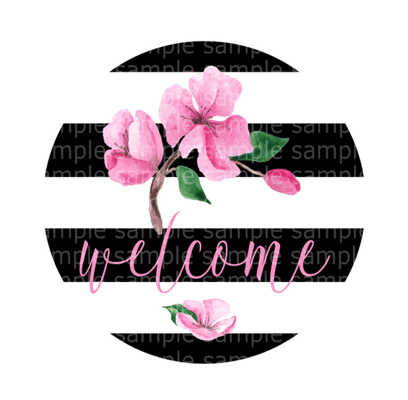 (Instant Print) Digital Download -  Welcome design made for MDF blank