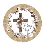 (Instant Print) Digital Download - Pray big - design made for MDF  blanks