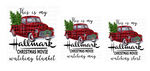 (Instant Print) Digital Download - This is my Hallmark Christmas ( bundle set of 3 designs )