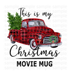 (Instant Print) Digital Download - This is my Christmas movie mug
