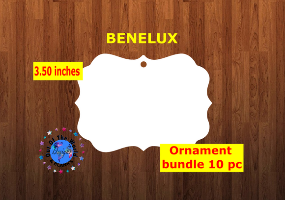 Benelux shape 10pc or 25 pc  Ornament Bundle Price