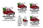 (Instant Print) Digital Download - This is my Hallmark Christmas movie watching ( bundle set of 5 designs )