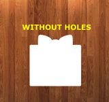 Gifts WITHOUT holes - Wall Hanger - 3 sizes to choose from -  Sublimation Blank  - 1 sided  or 2 sided options
