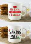 (Instant Print) Digital Download - 2pc bundle mug designs for Christmas ( you get both)