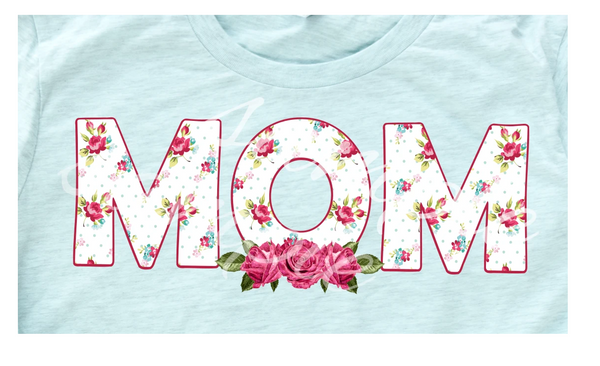 Mom screen print