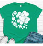 Clover screen print
