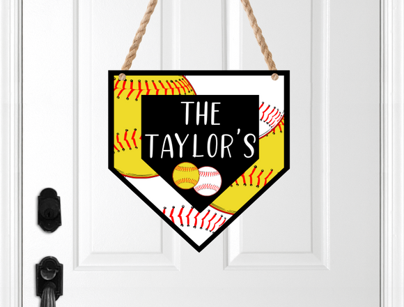 (Instant Print) Digital Download - Customize your Home plate design, made for our  MDF blanks