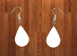 Tear drop earrings size 1.5inch - BULK PURCHASE 10pair