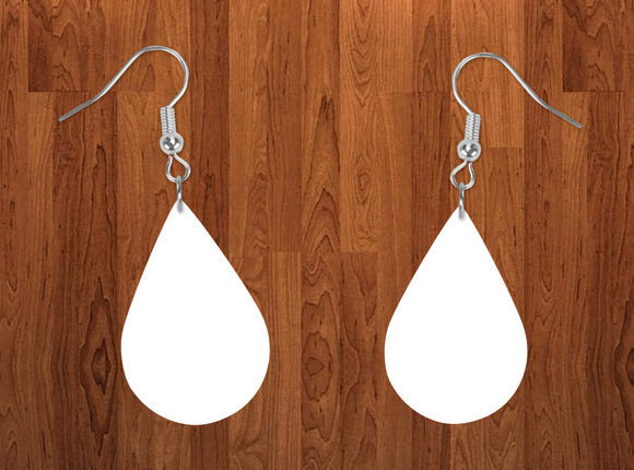 Tear drop earrings size 2inch - BULK PURCHASE 10pair