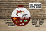 (Instant Print) Digital Download - 13pc Fishing bobber design