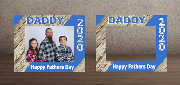 (Instant Print) Digital Download -  Daddy Happy Father's Day Frame