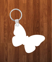 Butterfly Keychain - Single sided or double sided  -  Sublimation Blank