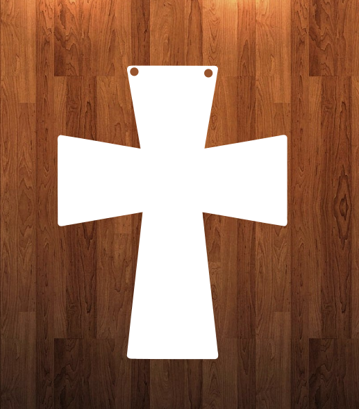 Cross hanger - 3 sizes to choose from -  Sublimation Blank  - 1 sided  or 2 sided options