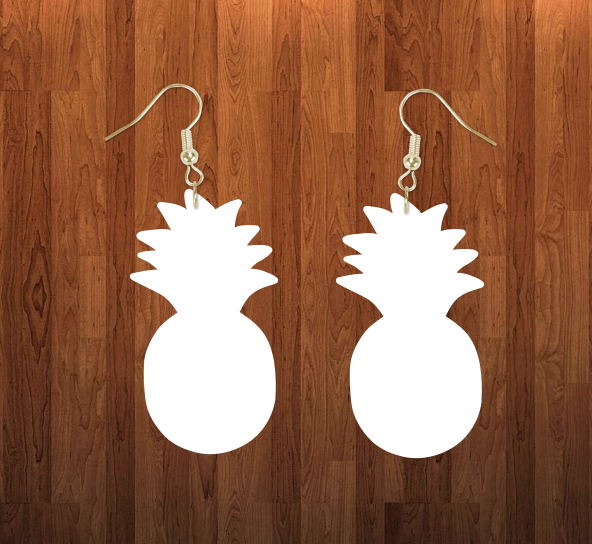 Pineapple earrings size 1.5 inch - BULK PURCHASE 10pair