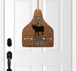(Instant Print) Digital Download - Home is where the heard is cattle tag - Made for out MDF blanks