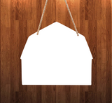 Barn - Door - Wall Hanger - 3 sizes to choose from -  Sublimation Blank  - 1 sided  or 2 sided options