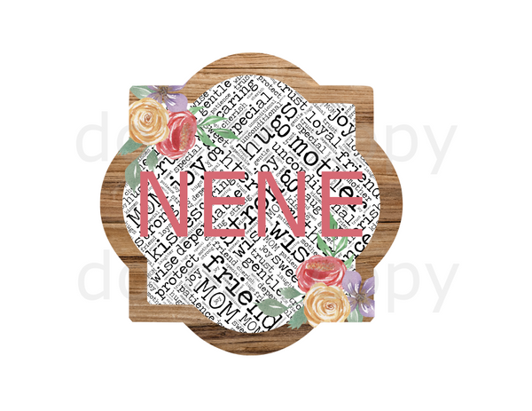 (Instant Print) Digital Download - Nene quarterfoil