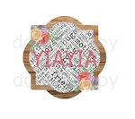 (Instant Print) Digital Download - YiaYia quarterfoil