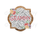 (Instant Print) Digital Download - Grammy quarterfoil