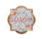 (Instant Print) Digital Download - Grandma quarterfoil