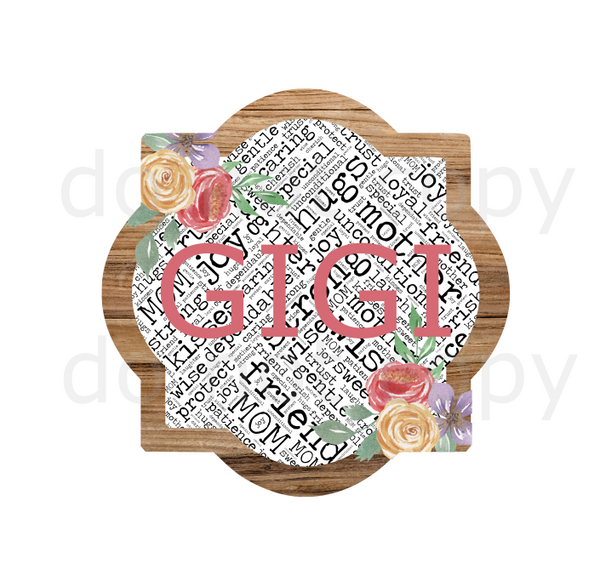 (Instant Print) Digital Download - Gigi quarterfoil
