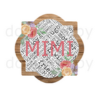 (Instant Print) Digital Download - Mimi quarterfoil