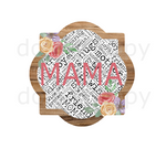 (Instant Print) Digital Download -  Mama quarterfoil