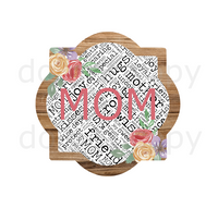 (Instant Print) Digital Download -  Mom quarterfoil