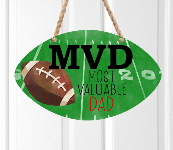 (Instant Print) Digital Download - MVD Most Valuable Dad