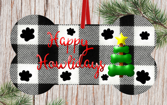 (Instant Print) Digital Download - Happy Howlidays , made for our  MDF blanks