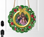 (Instant Print) Digital Download - Personalized your own wreath , made for our sublimation MDF blanks