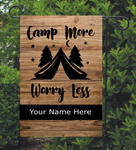 (Instant Print) Digital Download - Camp more worry less